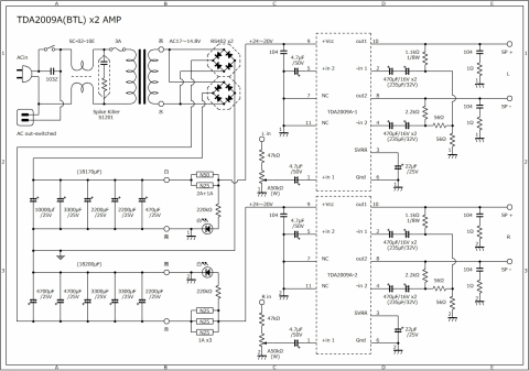 Tda2009abtl-x2-amp